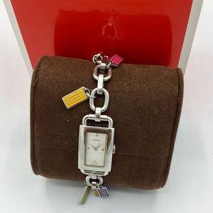 Authentic COACH Legacy Tag Bracelet Watch